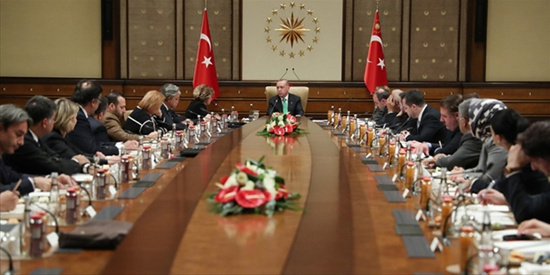 Executives from American companies met with President Erdoğan